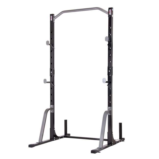 PBC530 Body Champ PBC530 U Frame/ Cage Power Rack System & Olympic Weight Plate Storage