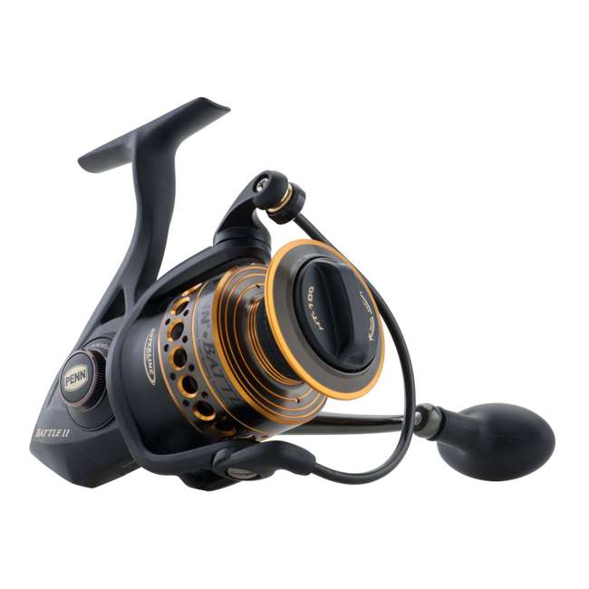 BTLII6000 Penn BTLII6000 Battle II HT100 Carbon Fiber Saltwater Fish Spinning Fishing Reel