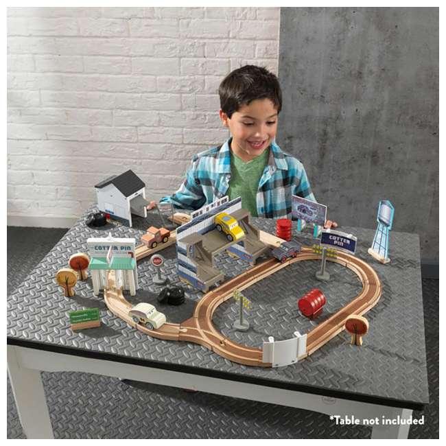 KDK-18015-U-A Kidkraft Disney Pixar Cars 3 50 Piece Thomasville Speedway Track Set (Open Box) 7
