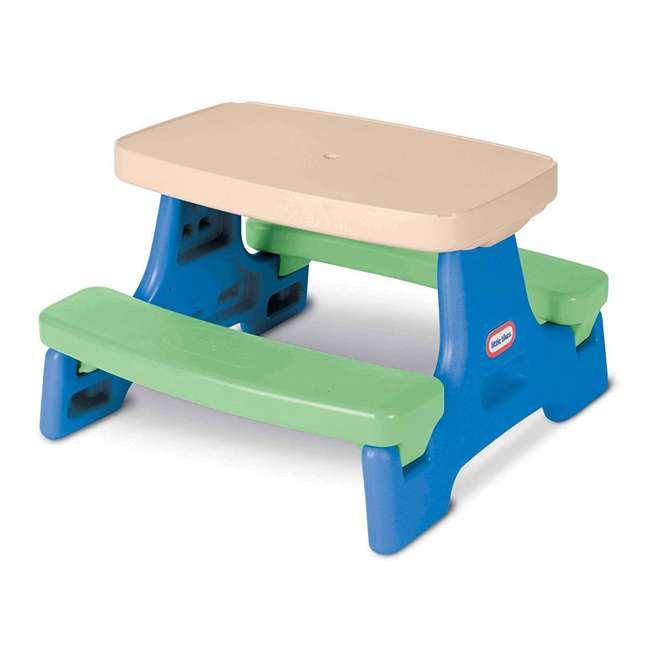 632952M Little Tikes Easy Store Jr. Potable Play Table, Multi Colored