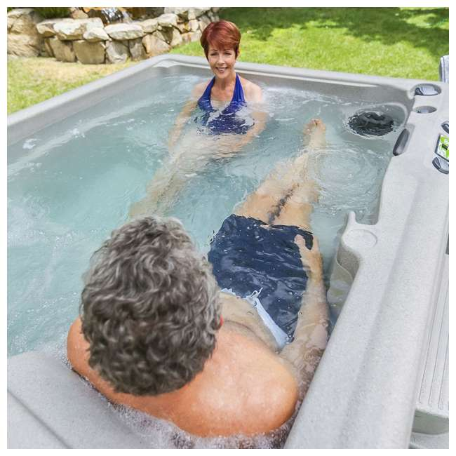 LS350DX Life Smart LS350DX 5-Person Outdoor Hot Tub Spa (2 Pack) 4