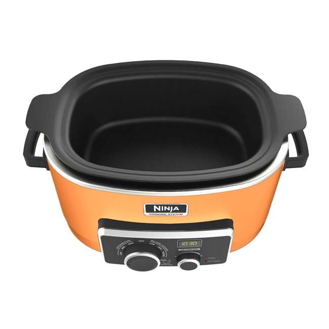 Ninja 3 In 1 Cooking System Orange Certified Refurbished