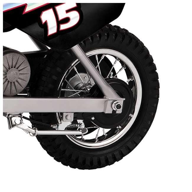 15128099 Razor MX400 Dirt Rocket Electric Motorcycle, Black 3