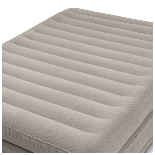 64445E Intex Prime Comfort Elevated Queen Airbed with Built-In Pump 2