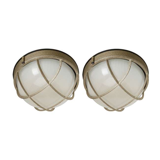 PLC-F9039665N Philips Forecast Oceanview Wall Lantern (2 Pack)