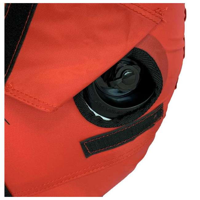 02918-RV-SMU RAVE Sports Ripper 2 Rider Nylon Inflatable Towable Float, Red 3