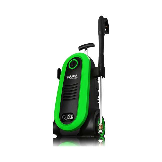 NXG-2200G-U-D Bloom USA PSI 1.76 GPM 14.5 Amps Electric Pressure Power Washer, Green (Damaged) 2