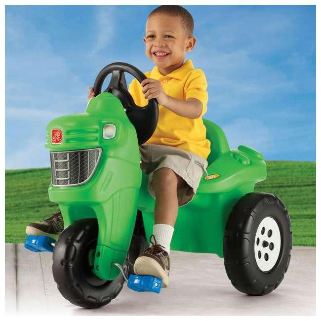 717600 Step 2 Outdoor & Indoor Children's Pedal Farm Tractor 1