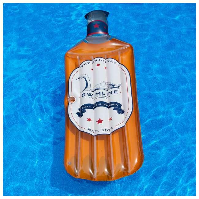 SL-90657 Swimline The Bourbon Float Inflatable Pool Raft 1