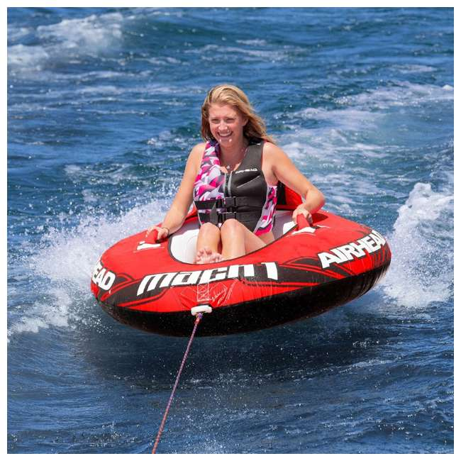AHM1-2 Sportsstuff Mach 1 Inflatable Single Rider Towable Tube  4