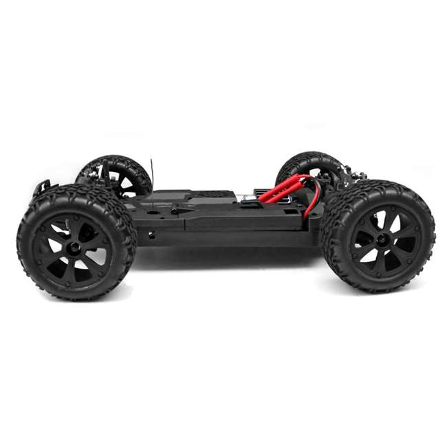 BLACKOUT-XBE-BLUE-U-C Redcat Racing 1/10 Scale Brushed Electric RC Monster Buggy, Blue (For Parts) 7