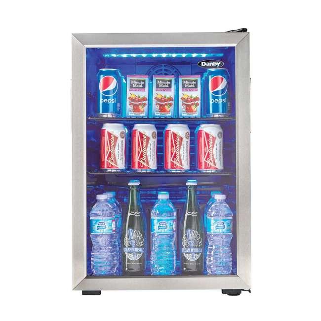 DBC026A1BSSDB Danby 95-Can Beverage Center Mini Fridge Refrigerator 2