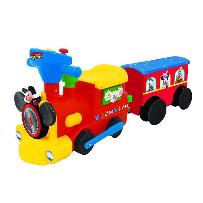 054080 Kiddieland Disney Mickey Mouse Battery-Powered Ride-On Train 2