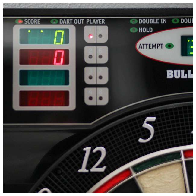 EBR1000 Arachnid EBR1000 E-Bristle 1000 LED Electronic Scoring Dartboard Cabinet Set 4