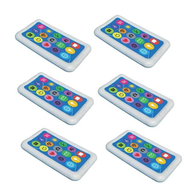 6 x 90636 Swimline Smart Phone Float (6 Pack)