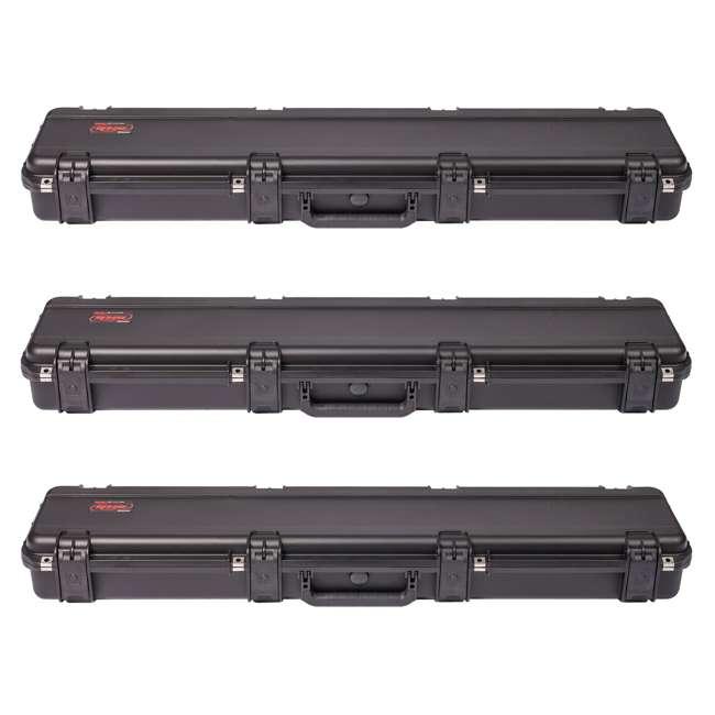 3 x 3i-4909-SR SKB Cases 3I-4909-SR iSeries Hard Plastic Single Hunting Rifle Case (3 Pack)