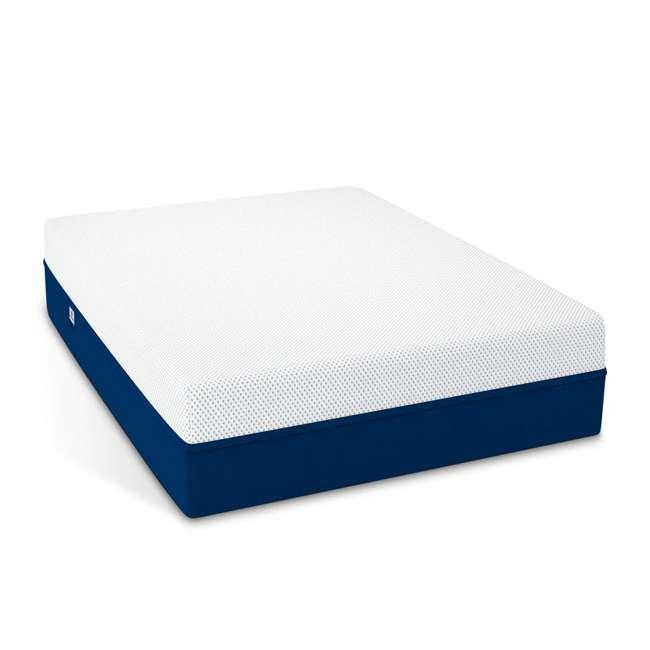 AS2-TXL Amerisleep AS2 Back/Stomach Sleeper Medium Firm Memory Foam Mattress, Twin XL 1