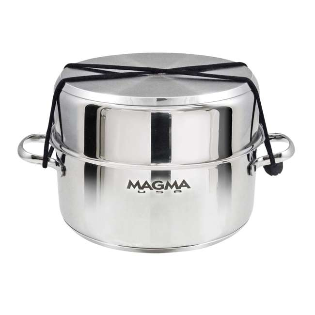 A10-363-2-IND Magma Products 7 Piece Nested Stainless Steel Non Stick Oven Safe Cookware Set 2