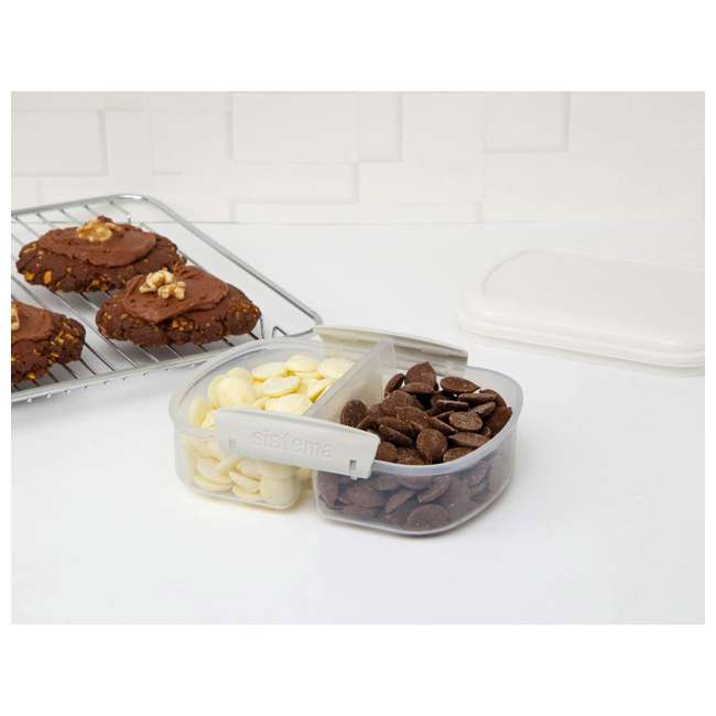 SISTEMA-1210ZS Sistema Bake It Food Storage for Baking Ingredients 3
