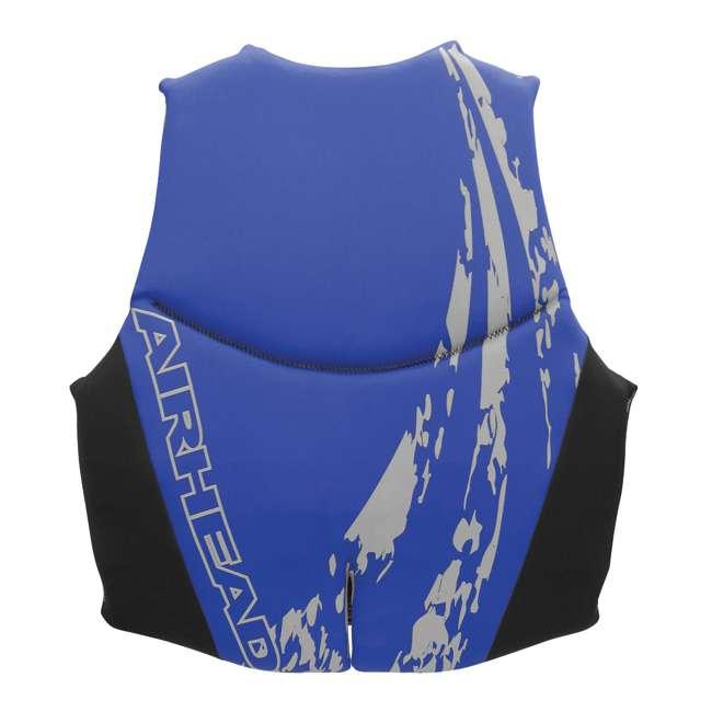 10 x 10076-09-B-BL Airhead Swoosh Neolite Adult Medium Life Vest, Blue (10 Pack) 2