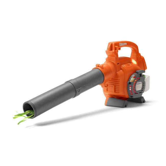 HV-BL-965877601 + HV-TOY-589746401 Husqvarna 50.2cc Gas Leaf Backpack Blower With Kids Toddler Toy Lawn Leaf Blower 8