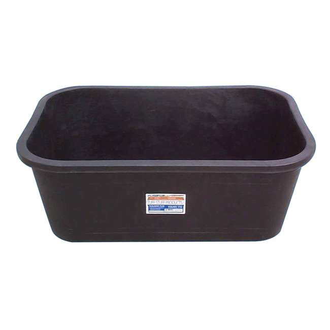 TS-KMR75 Tuff Stuff Heavy Duty 75 Gallon Rectangular Water Storage Tank Tub (2 Pack) 1