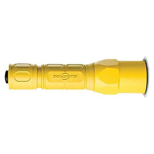 G2X-D-YL SureFire Pro Lightweight High Performance Dual Output LED Flashlight, Yellow 1