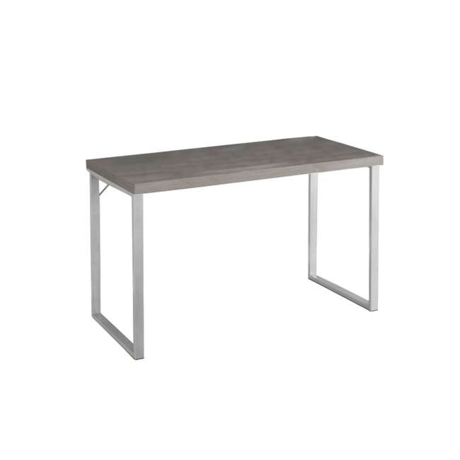 VM-7155 Monarch Specialties 47-Inch Computer Desk, Dark Taupe