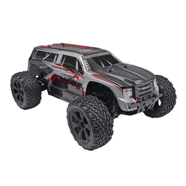 4 x BLACKOUT-XTE-SILVERSUV Redcat Blackout XTE Electric RC Monster Truck SUV (4 Pack) 1