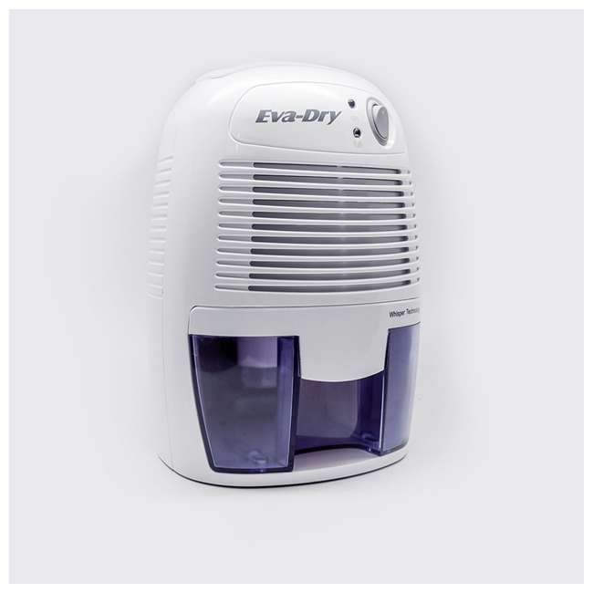 EDV-1100 Eva Dry EDV-1100 Petite 8 Ounce 1,100 Cubic Feet Home Electric Mini Dehumidifier 3