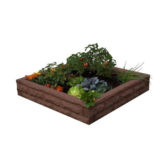 GW-RBG-RED Good Ideas Garden Wizard Outdoor Self Watering Raised Garden Bed, Red Brick