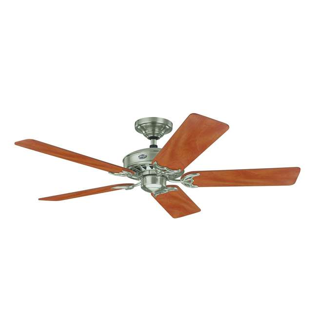 26418 Hunter 159919 Architect 52 Inch 5 Blade Reversible Ceiling Fan, Maple/Chestnut 1