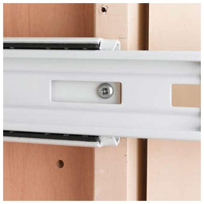 4WCTM-18DM2-U-A Rev A Shelf 35 Quart Pull Out Sliding Double Waste Trash Bin (Open Box) (2 Pack) 4