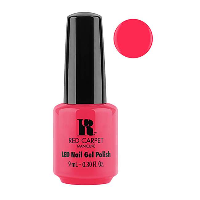 Red Carpet Gel Nail Polish 9 Ml Bottles Rock The Night Kit