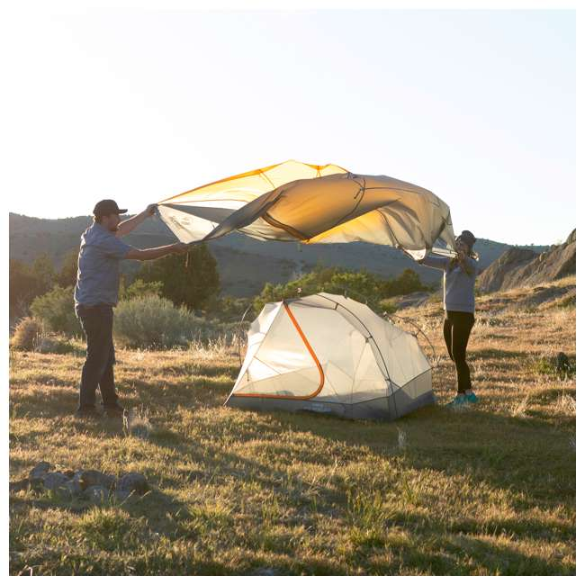 09M2OR01B Klymit 09M2OR01B Maxfield 2 Person 3 Season Lightweight Backpacking Camping Tent 8
