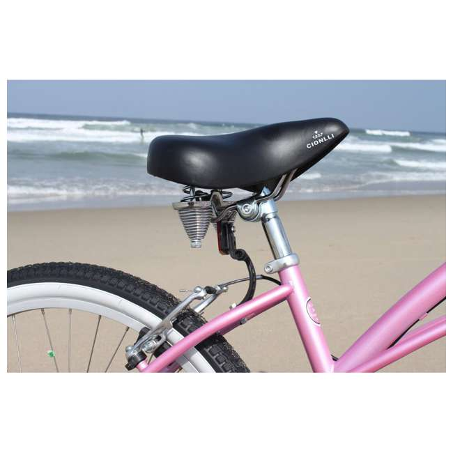 "14803 Firmstrong Urban Lady Women's 26"" 7-Speed Cruiser Bike, Pink 2"