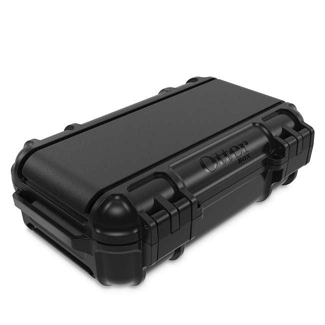 77-54442 OtterBox 3250 Series 0.9 Liter Small Lockable Waterproof Storage Drybox, Black 4