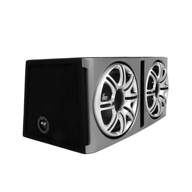 DB1222 Polk Audio DB1222 Dual 12-Inch Ported Subwoofers Enclosures Bass Pacakge Subs (Pair) 1