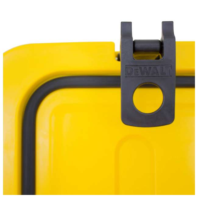 DXC65QT DeWalt 65 Quart Insulated Lunch Box Drink Cooler Roto Molded Portable, Yellow 7