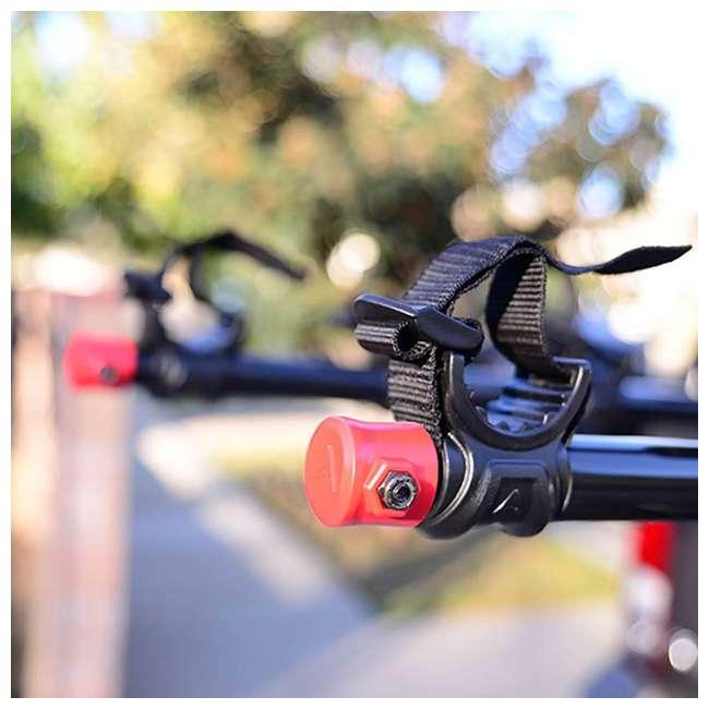 542RR-R-U-A Allen Sports Deluxe 4 Bike Storage Rack Hitch for Back Bumper (Open Box)(2 Pack) 5