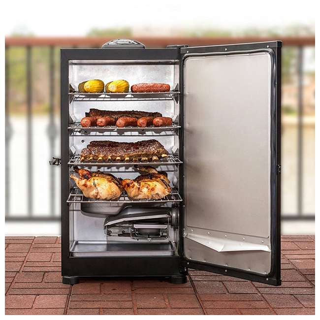 "MB20071117-U-A Masterbuilt Outdoor 30"" Digital Electric Smoker Grill, Black (Open Box) (2 Pack) 4"