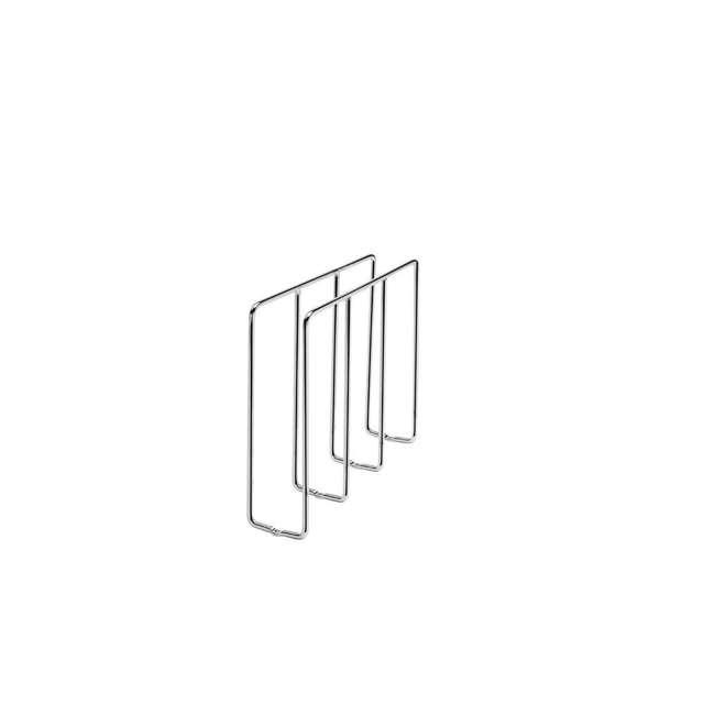 596-10CR-52 Rev-A-Shelf U-Shaped Tray Divider Organizer for Cabinets, Chrome (2 Pack) 1