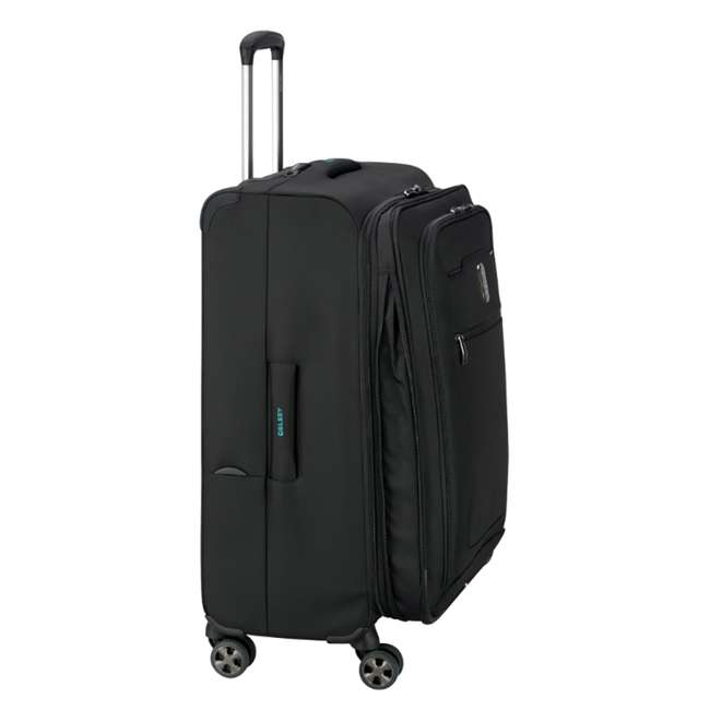 """40229182000 DELSEY Paris 25"""" Expandable Spinner Upright Hyperglide Luggage Suitcase, Black 6"""