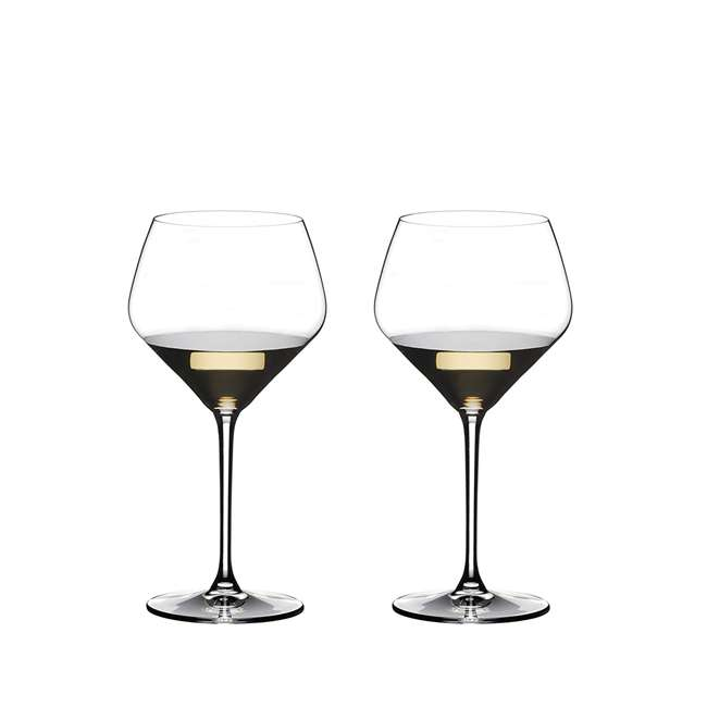 4441/97 Riedel Extreme Oaked Chardonnay Crystal White Wine Glass, 23.63 Ounce (2 Pack)