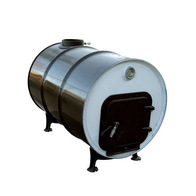 MH-F500300 Mr. Heater F500300 Barrel Drum to Outdoor Camping Wood Camp Stove Converter Kit 1