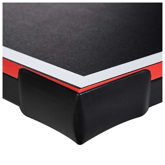 TT415Y19016 Lancaster 4 Piece Official Size Folding Table Tennis Ping Pong Game Table, Black 4