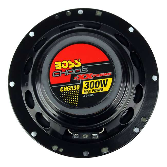 QP693 + CH6530 Q Power QP693 6x9-Inch 500W 3-Way Speakers (2 Pack) & Boss 6.5-Inch 3-Way 300 Watt Speakers (2 Pack) 11