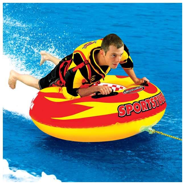 4 x 53-1116 Sportsstuff Sportstube VIP Towable Single Rider Water Tube (4 Pack) 2