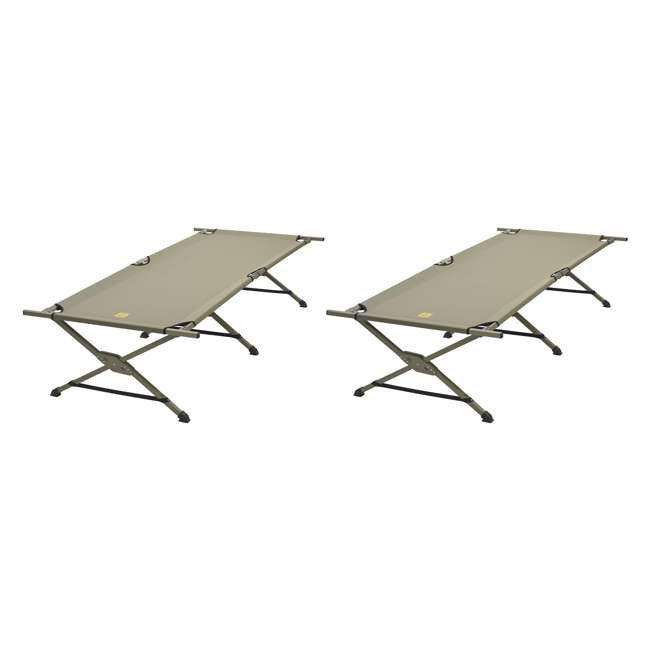 56880016 Slumberjack Portable Tough Cot with Carry Bag (2 Pack)