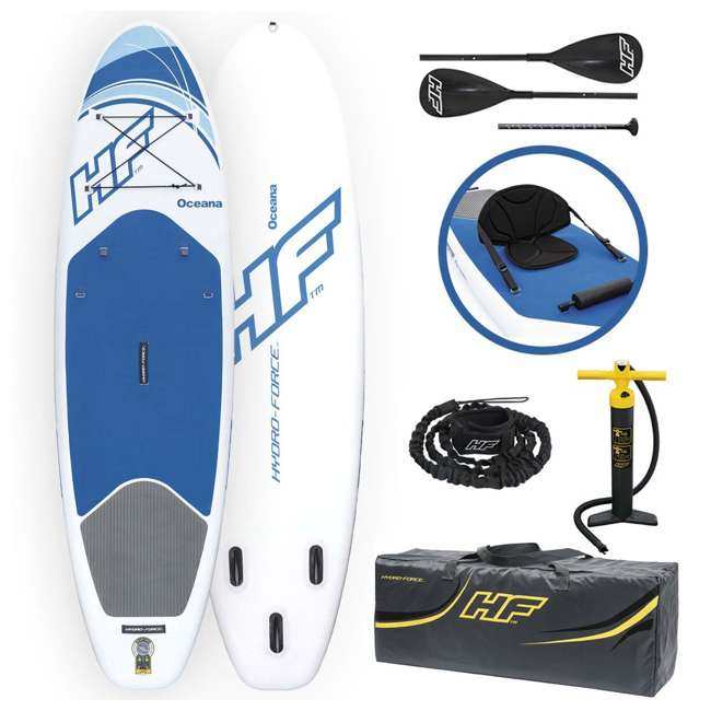 65303-BW Bestway Hydro-Force Inflatable Oceana Stand Up Paddle Board